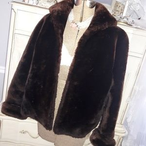 VTG 50S MOUTON FUR JACKET! BEAUTIFUL AND WARM!